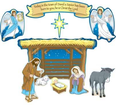 Bulletin Board Set-Nativity