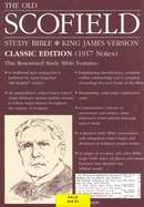 KJV Old Scofield Study Bible-Classic-Blue Bonded Leather Indexed