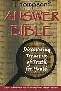 KJV Thompson Answer Bible-Hardcover