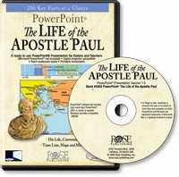 Software-Life Of The Apostle Paul Powerpoint