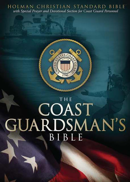 HCSB Coastguardsman's Bible, Blue LeatherTouch