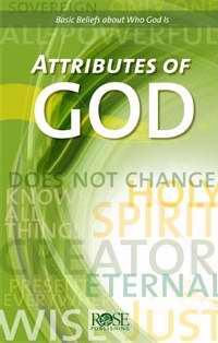 Attributes Of God Pamphlet (Single)