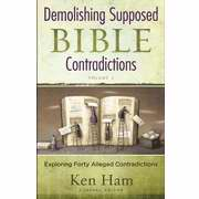 Demolishing Supposed Bible Contradictions V2