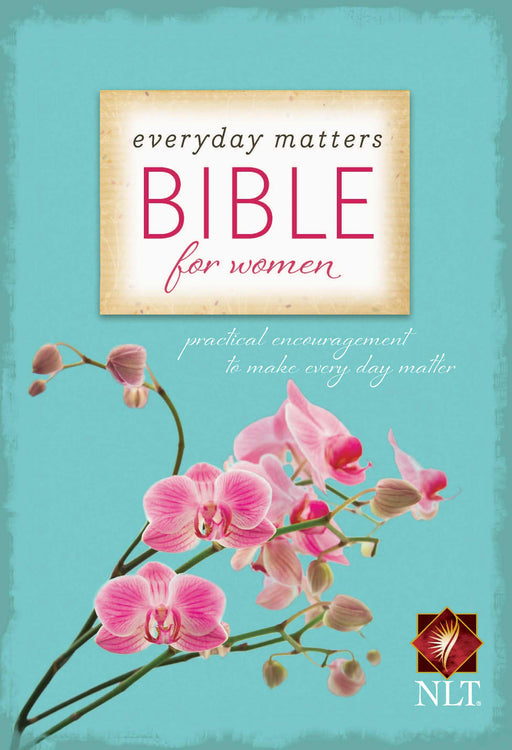 NLT Everyday Matters Bible for Women, Hardcover