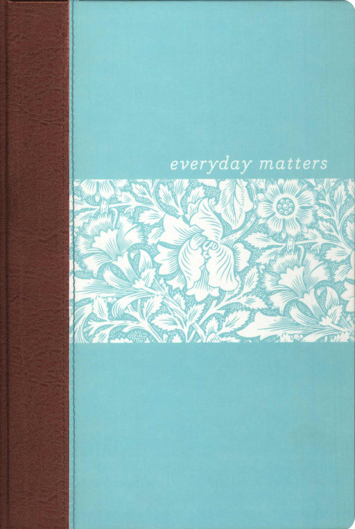 NLT2 Everyday Matters Bible For Women-Deluxe Blue Hardcover