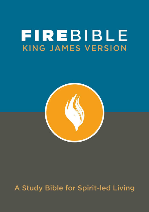 KJV Fire Bible-Hardcover