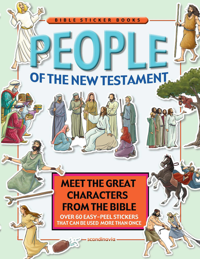 People Of The New Testament Reusable Sticker Book