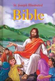 St. Joseph Illustrated Bible-Hardcover