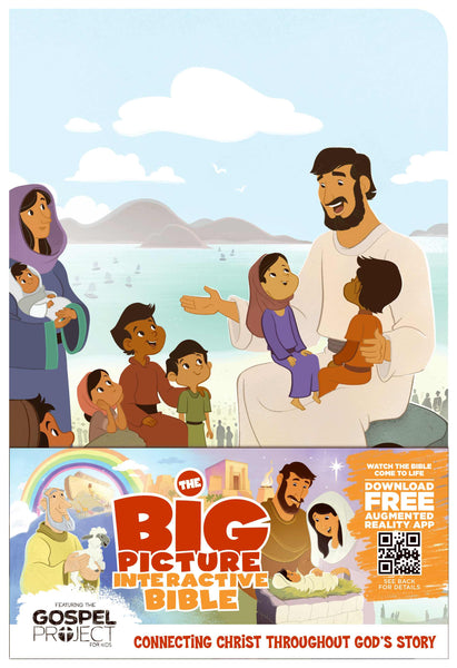 The Big Picture Interactive Bible for Kids, Jesus Edition LeatherTouch