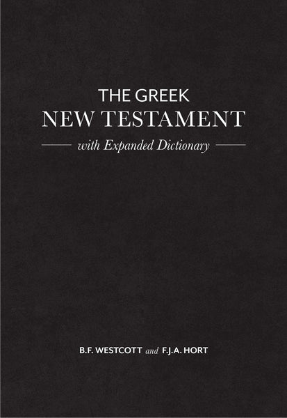 Greek New Testament w/Expanded Dictionary