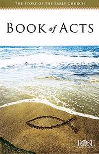 Books Of Acts Pamphlet (Single)
