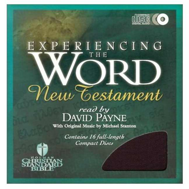 HCSB Experiencing The Word New Testament (Audio CD)