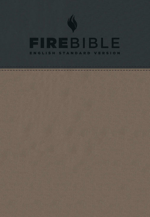 ESV Fire Bible-Gray/Slate Flexisoft