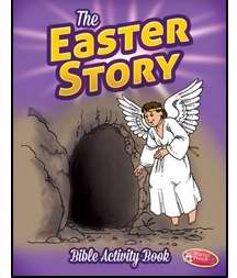 Easter Story Bible Activity Book (Ages 6-10)