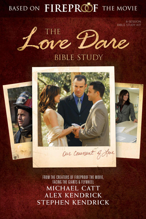 Love Dare Bible Study Member Book w/DVD (Curriculum Kit) (Updated)