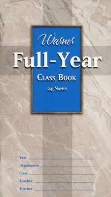 Warner Full Year Class Book (24 Names)