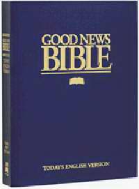 GNT Good News Bible-Giant Print-Blue Softcover