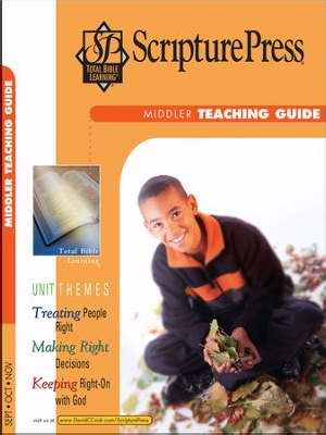 Scripture Press Fall 2017: Middler Teaching Guide (#4040)