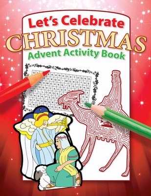 Let's Celebrate Christmas: Advent Activity Book