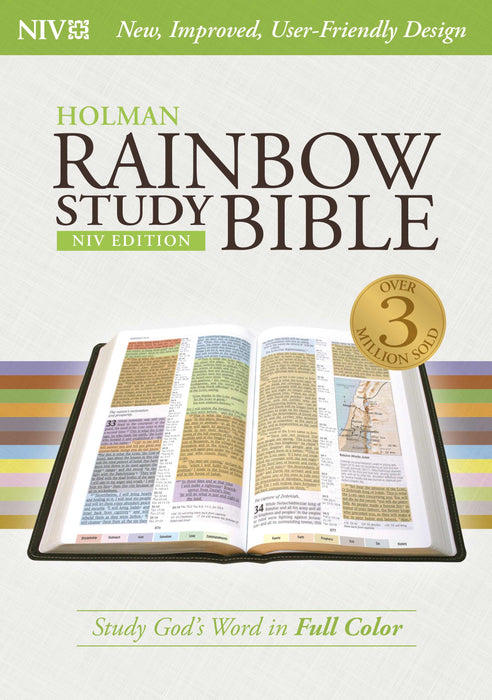 NIV Rainbow Study Bible, Jacketed Hardcover