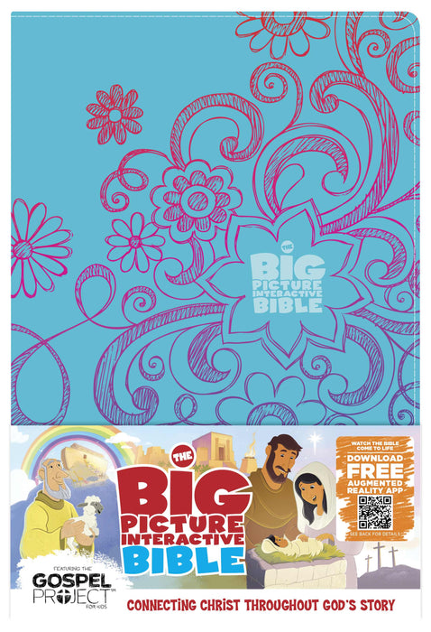 The Big Picture Interactive Bible for Kids, Doodles LeatherTouch
