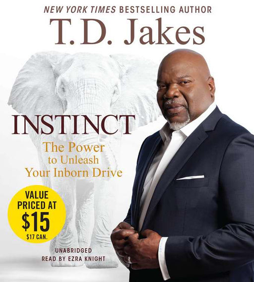 Audiobook-Audio CD-Instinct (Unabridged) (Replay) (6 CD)