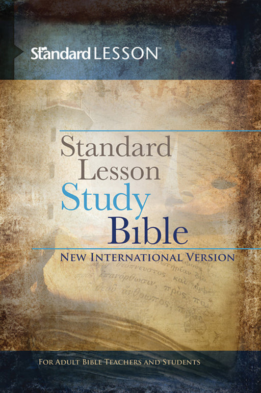 NIV® Standard Lesson Study Bible Hardcover w/ Commentary