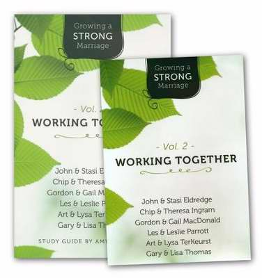 Growing A Strong Marriage V2: Working Together Study Guide w/DVD