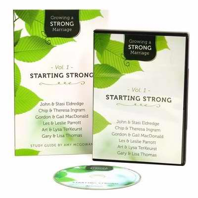 Growing A Strong Marriage V1: Starting Strong Study Guide w/DVD