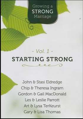 DVD-Growing A Strong Marriage V1: Starting Strong