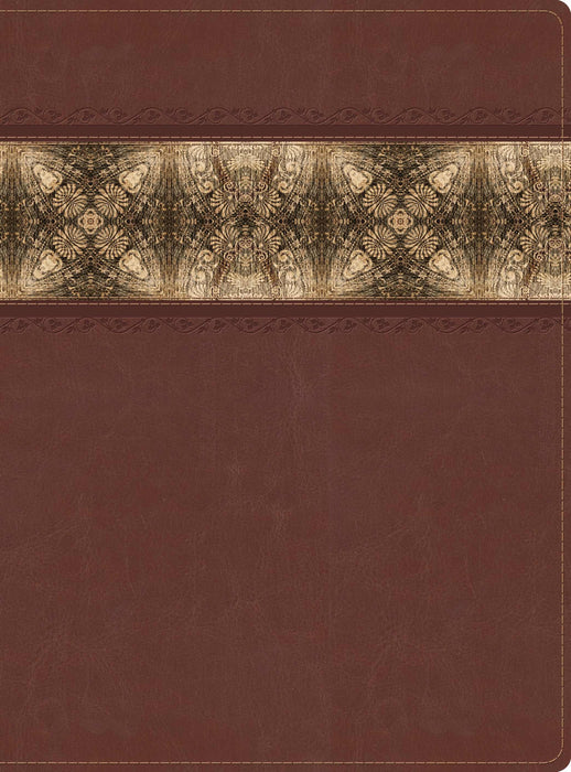 The Apologetics Study Bible, Cinnamon/Brocade LeatherTouch, Indexed