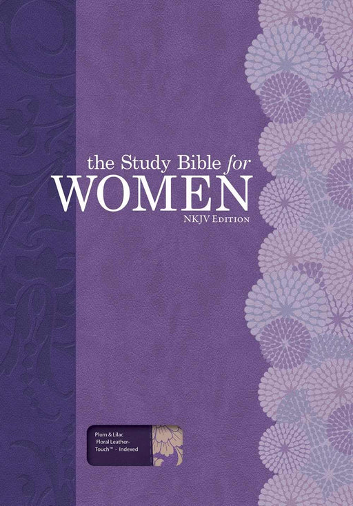 The Study Bible for Women: NKJV Edition, Plum/Lilac Leathertouch, Indexed
