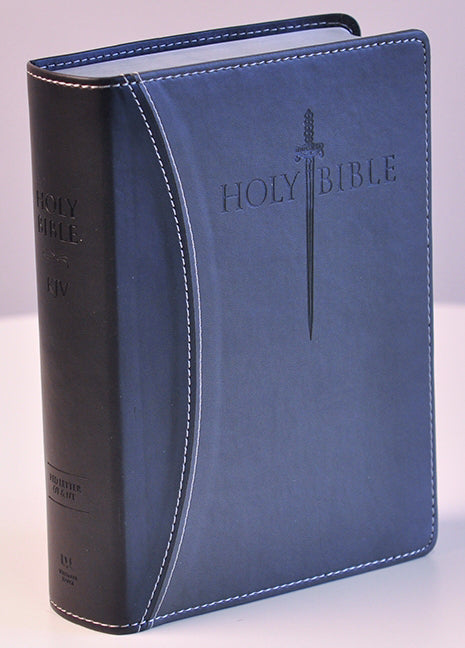 KJV Sword Study Bible/Giant Print-Black/Grey Ultrasoft Indexed
