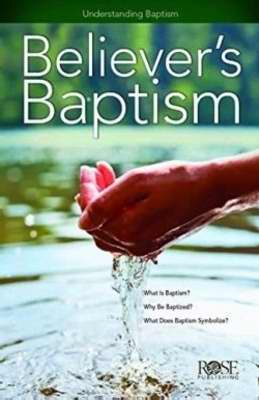 Believers Baptism (Pack Of 5)