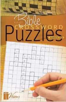 Vision Bible Crossword Puzzle #2 Activity Book