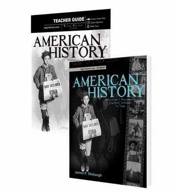 Master Books-American History Set (9th - 12th Grade)