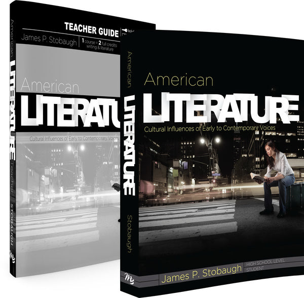 Master Books-American Literature Set (9th - 12th Grade)