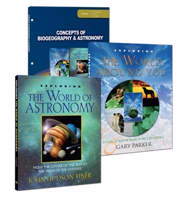 Master Books-Concepts Of Biogeography & Astronomy Set