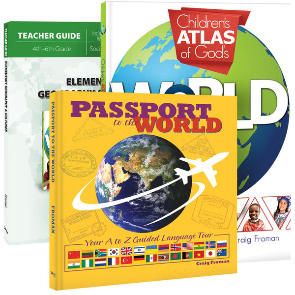Master Books-Elementary Geography & Cultures Set
