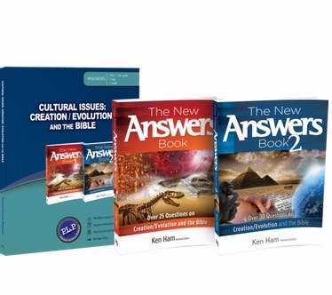 Master Books-Cultural Issues: Creation/Evolution And The Bible Set (9th - 12th Grade)
