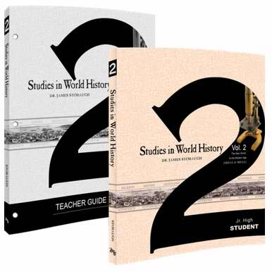 Master Books-Studies In World History Volume 2 Set (6th - 8th)