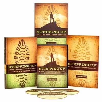 Stepping Up: A Call To Courageous Manhood Video Series w/3 DVDs (Repl #128296