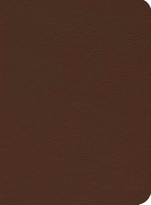 ESV Reformation Study Bible, Brown, Montana Cowhide