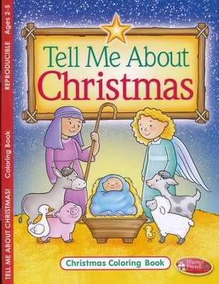 Tell Me About Christmas Coloring Book (Pack Of 6)