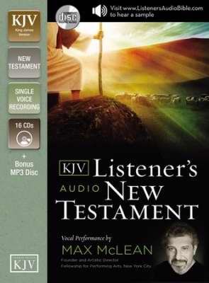 Audio CD-KJV Listener's Audio New Testament (16 CD)