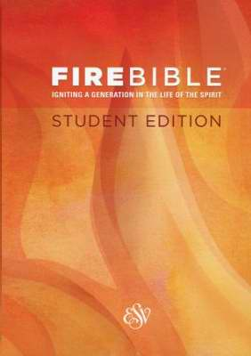 ESV Fire Bible Student Edition-Hardcover
