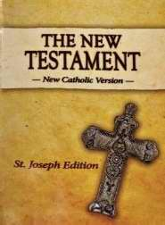 New Catholic Version St. Joseph Edition Vest Pocket New Testament-Softcover