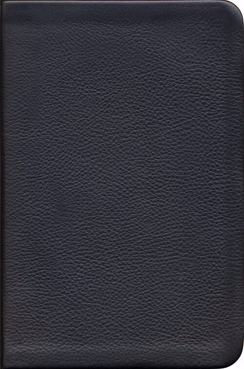 NKJV Reformation Study Bible, Black, Genuine Leather