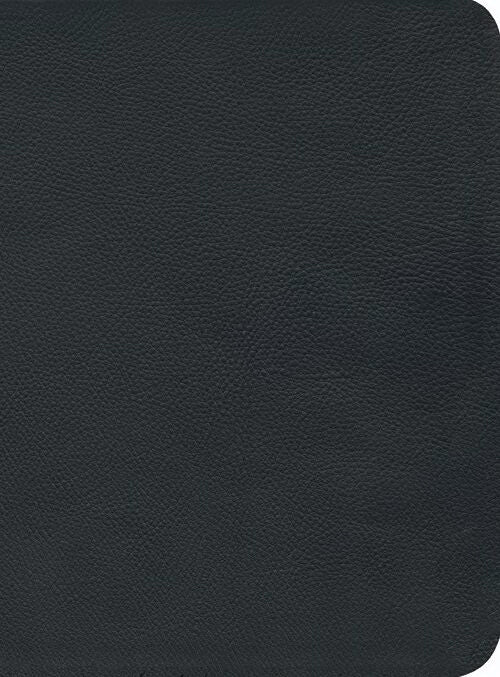 NKJV Reformation Study Bible, Black, Montana Cowhide