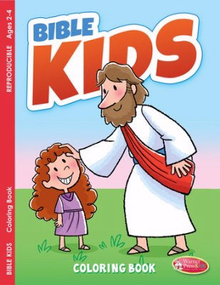 Bible Kids Coloring Book (Pack Of 6)